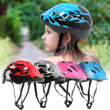 Children Cycling Helmet with Taillight Child Skating Riding Safety Helmet Kids Balance Bike Bicycle Protective Helmet new generation city riding folding safety helmet portable high strength disposable molding helmet folding helmet 2 0
