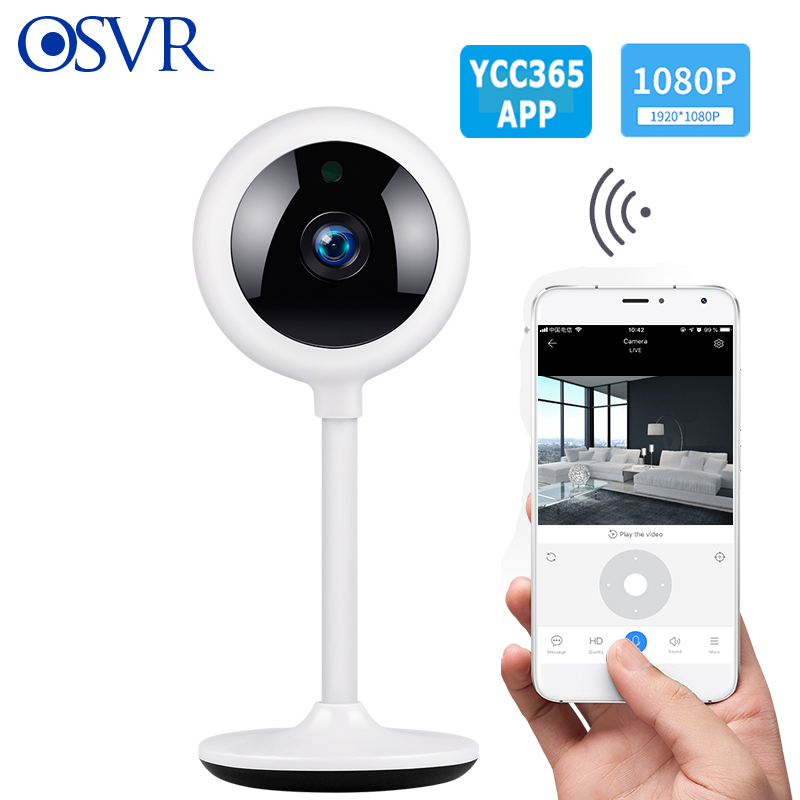 Portable 1080P HD IP Camera WiFi Infared Motion Detection Security Baby Monitor Remote Control Wireless Mini Camera YCC365