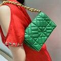 Модная брендовая сумка на плечо для женщин, сумка через плечо из искусственной кожи, женский маленький кошелек, дизайнерская сумка-мессендж...