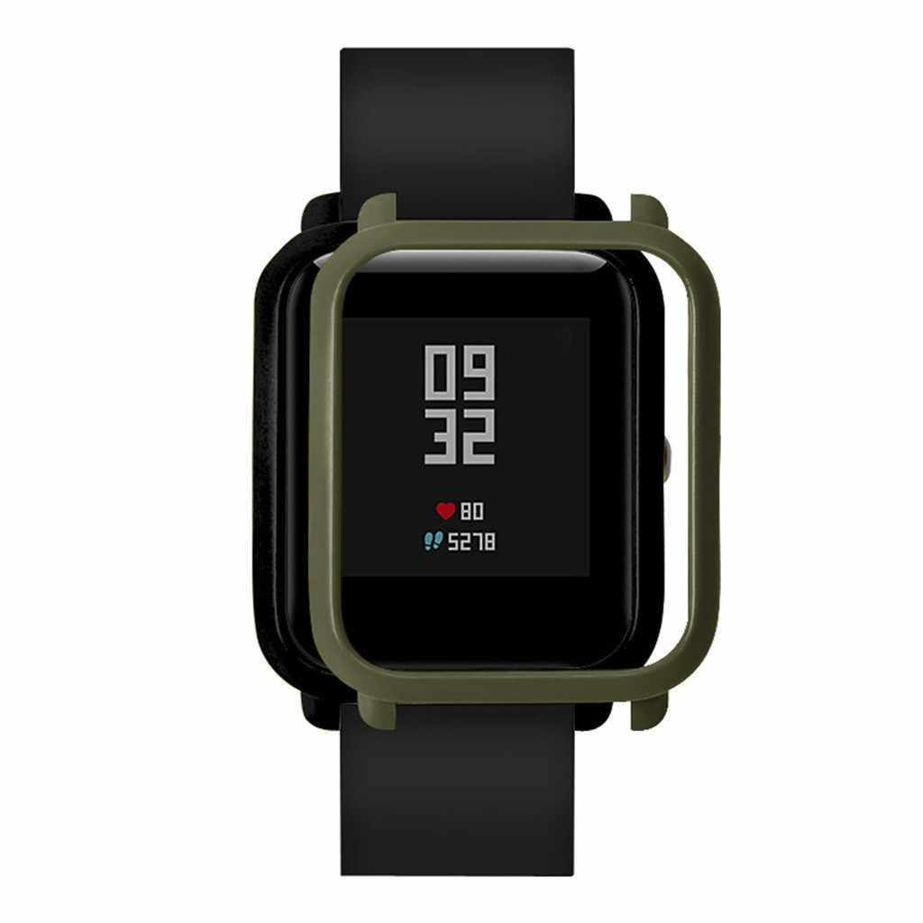 Smart Watch Protecter Case For Xiaomi Huami Amazfit Bip Bit youth Colorful Frame Soft TPU Protection Cover Shell #GM