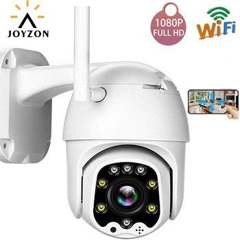 JOYZON 1080P HD Wifi PTZ IP Камера уличная Беспроводная облачная камера для хранения 2MP 4X зум скорость купольная Авто слежение ИК дома Surveilance CCTV