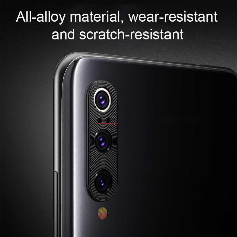 كاميرا عدسة واقية حلقة معدنية ل شياو mi الأحمر mi ملاحظة 7 K20 الموالية mi 9T 9 8 SE A2 6X الهاتف عودة كاميرا حامي عدسة غطاء حالة