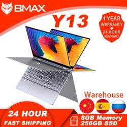 Bmax y13 computador portátil 13.3 Polegada 8gb ram 256gb ssd intel n4120 laptops janela 10 1920 × 1020 display com blutooth wifi