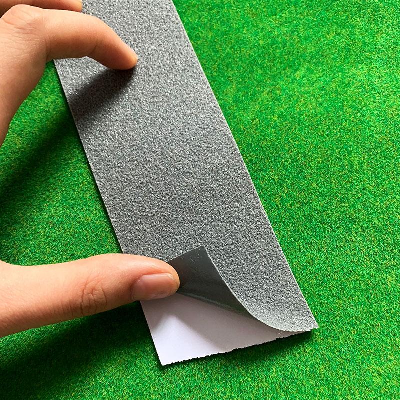 100*5cm modelo estrada interestadual/alcatrão estrada/cinza modelo estrada ferroviária fita com adesivo traseiro/paisagem modelagem/modelo país estrada