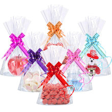 10 Pcs/pack DIY Bow Decoration Wedding Holiday Ornament Gift Christmas Hand-pulled Flowers Festive Party Material(China)