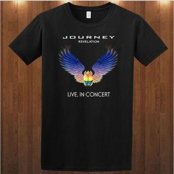 Journey tee American rock band Abraxas Pool Bad English S M L XL 2XL 3XL T-shirt Light T shirt Tops Summer Cool Funny T-Shirt