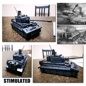 Image 5 - WW2 M26 بيرشينغ تانك بانزر T 34 (85) الولايات المتحدة الأمريكية ألمانيا الدبابات العسكرية اللبنات Soilders أرقام الطوب مجموعة لعب الأطفال