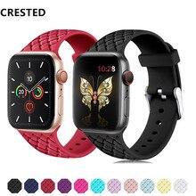 Силиконовый ремешок для apple watch 5 4 3 ремешок 44 мм 40 мм iwatch ремешок 5 42 мм 38 мм браслет pulseira correa ремешок для часов