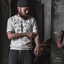 Bronson Boxing Athletic T Shirts Vintage Boxer Slub Cotton Raglan Training Tee