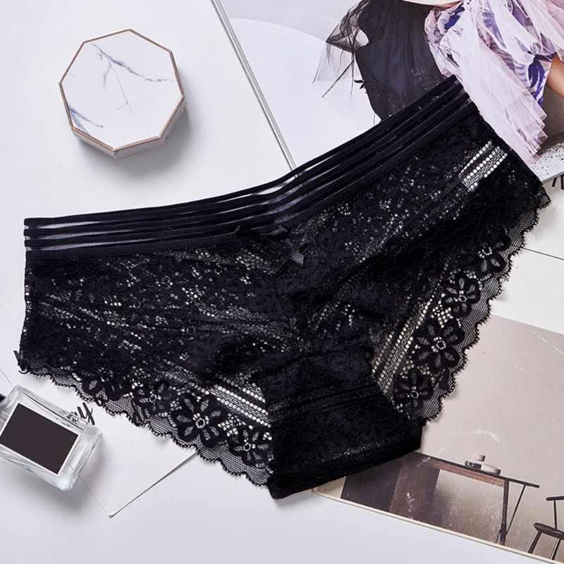 Wanita Pakaian Dalam Celana Wanita \ \ \ Celana Dalam Penuh Transparan Lace Seamless Sexy Wanita Celana Dalam Katun Celana Dalam 1 Buah