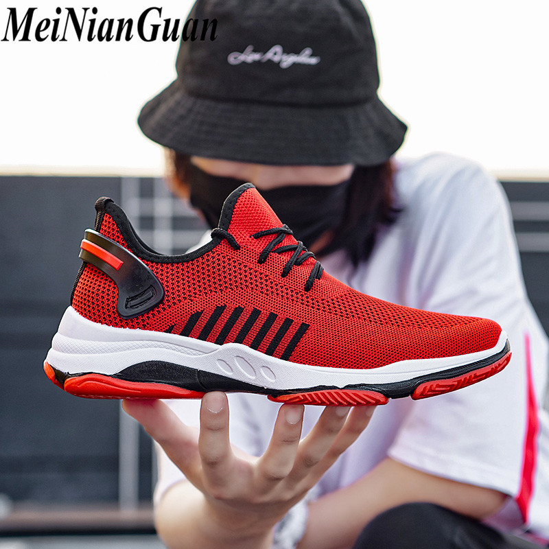 Hot Men Sport Shoes Light Men's Shoes Sneakers Man Running Shoes Sport Youth Mens Running Shoes Breathable Male Sports Shoes A8