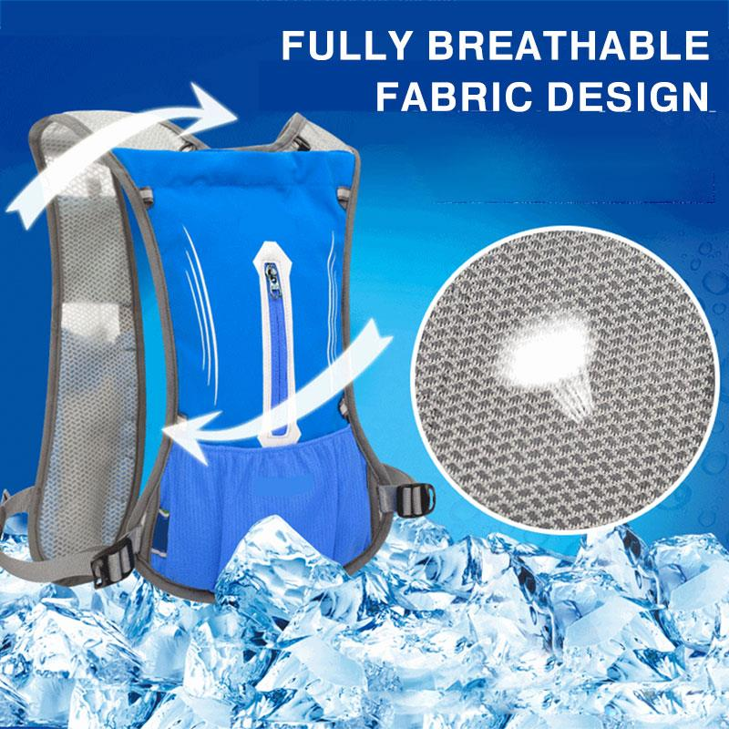 Convenient 5 Color Polyester Storage Cycling Water Bladder Bag Water Pack Furl Cooling Water Bag Backpack Climbing Travel