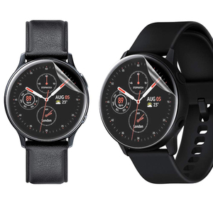 Image 3 - 3Pack For Samsung Galaxy Watch Active2 40mm/44mm Smart Watch 5H TPU Nano Anti shock High Definition Screen Protector Clear Film