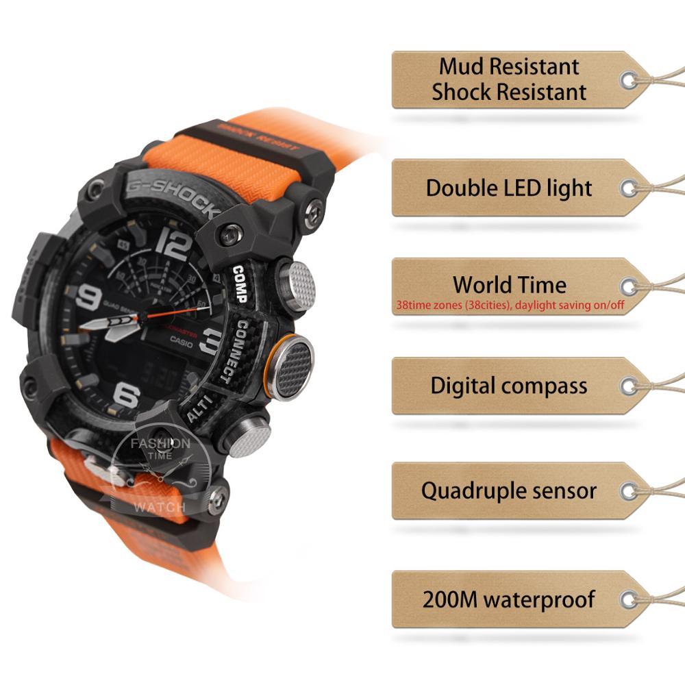 Image 2 - Casio watch G SHOCK quartz smart top Watch Carbon core guard structure 200 Waterproof Sport men watch Relogio MasculinoSmart Watches   -