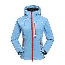 цена на Winter Ski Suit Women's Outdoor Snowboard Jacket Waterproof Skiing Coat Softshell Jacket Terno Esqui Warm windproof Snow Jacket