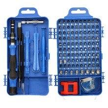 Multifunktionale Schraubendreher Kopf Set Torx Stern Torks Schraubendreher bits Set Für MACbook Hand Werkzeuge 115 in 1 Schraubendreher set