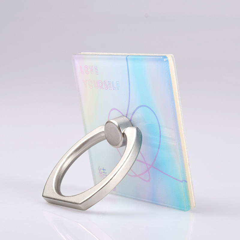 Kpop Bangtan Boys LOVE YOURSELF ANSWER Phone Ring Mount 360 Degrees Phone Holder Bracket Stand Finger Rings Top Quality 3.7CM