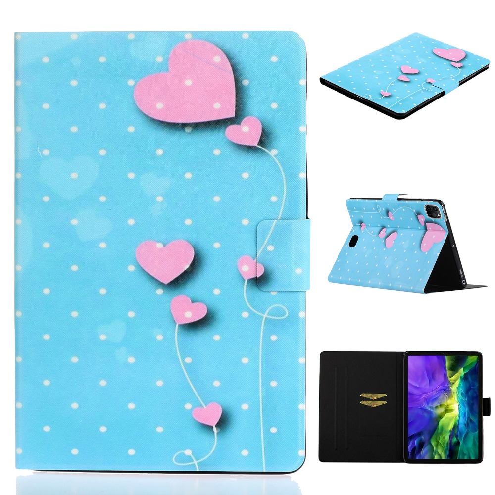 Cheap 2020 iPad For Smart Case Case inch Folio iPad Pro PU Pro for Leather 11 Painted