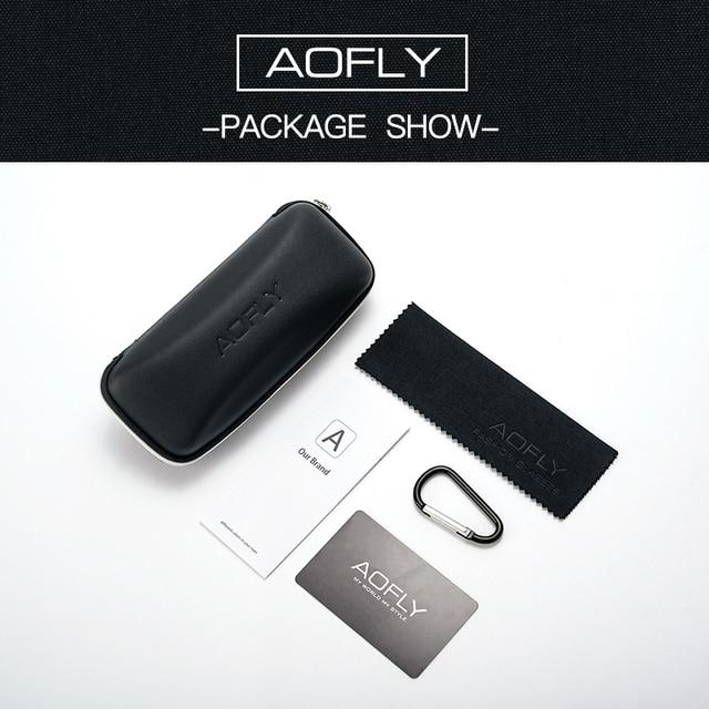 AOFLY Brand 2020 Fashion Sunglasses Men Polarized Square Metal Frame Male Sun Glasses Driving Fishing Eyewear zonnebril heren 10