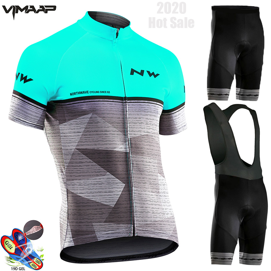 Northwave 2020 Summer Cycling Jersey Set Breathable MTB Cycling Clothing Mountain Bike Wear Clothes Maillot Ropa Ciclismo Hombre