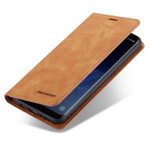 Image 5 - Flip Cover Wallet Luxury Leather Phone Case For Samsung Galaxy S8 Plus Magnetic Stand SM G950F G955F Galaxys8 S8plus S 8 8plus
