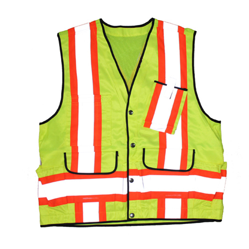 Manufacturers Hot Selling Yongkang Third Base Safety Clothing Reflective Vest High Quality High Brightness High Quality SL8028