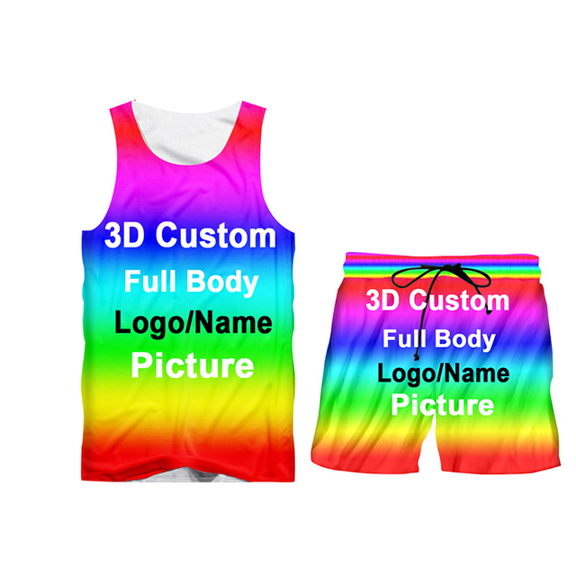 UJWI 3D Custom Print Men/Woman two piece set Party Graduation Memorial Couple Tracksuit Sweatsuit Sweatshirt Hoodies sports 4
