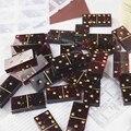 Из хрустальной эпоксидной смолы игры пресс-форм инструменты для самостоятельного изготовления домино литья силиконовые формы 54DC
