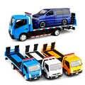 3 couleurs nouveauté 1:32 échelle remorque voiture camion jouet tracteurs modèle plate forme alliage remorque enfants jouets avec boîte V087