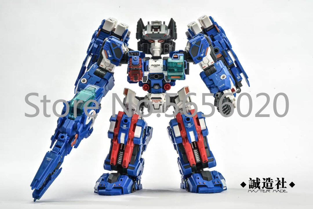 New Master Made SDT-05 TOYS SDT-03 Robot Odin Fortress Maximus Q Version Action Figure Toy image