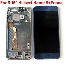Originale di 100% Per Huawei Honor 9 STF L09 STF AL10 STF AL00 STF TL10 Display LCD + Touch Screen Digitizer Assembly Honor 9 Premium