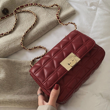 MONNET CAUTHY New Arrival Female Bags Classic Fashion Chic Style Messenger Solid Color Wine Red Black Khaki White Girl Flap