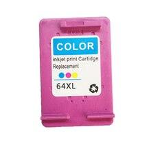 vilaxh 64 Color compatible Ink Cartridge Replacement For HP xl 64xl Envy 7800 7820 7158 7164 7855 7864 6252 6255 Printer