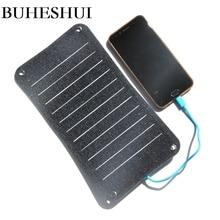 BUHESHUI pół elastyczne Sunpower ETFE 10W energii słonecznej 5v ładowarka panelowa ładowarka solarna do powerbank do telefonu darmowa wysyłka
