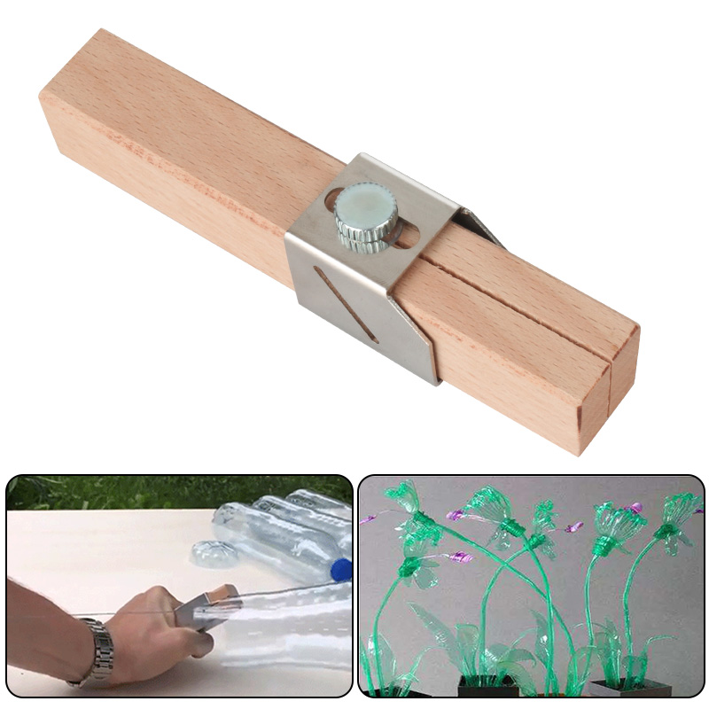 Portable Plastic Bottle Cutting Tools Cutter Outdoor Household Bottles Rope Tools Craft Bottle Rope Cutter DIY Tools
