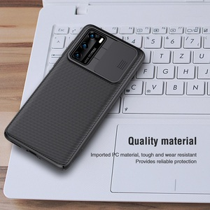 Image 5 - For Huawei P40 Case P40 5G Cover NILLKIN CamShield Case Slide Camera Protect Privacy Clean Back Cover for Huawei P40 Pro Case
