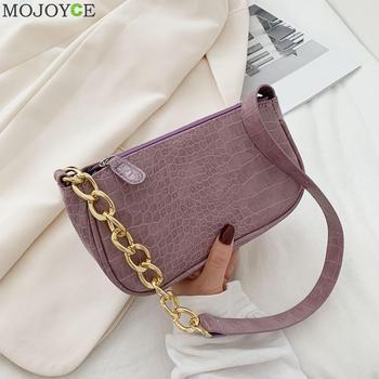Lady Zipper Armpit Sling Handbag Women PU Leather Solid Color Hobo Shoulder Bags Light Wild Simple Female Daily Bag