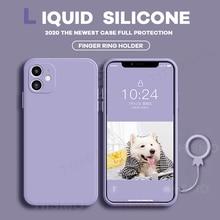 Liquid Silicone Soft Case for IPhone 11