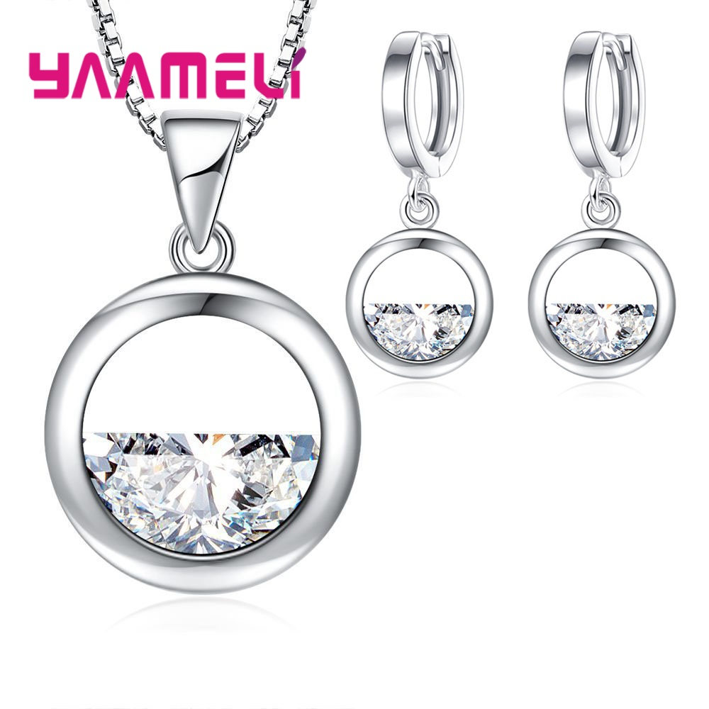 1set Jewelry Set Women 925...
