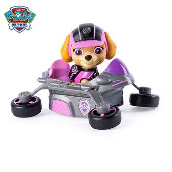 Paw patrol dog birthday gift anime character puppy patrol rescue vehicle Skye Chase action figure model children birthday gift