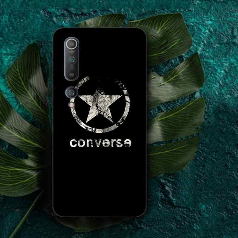 Lvtlv Fashion Merek Converses Semua Bintang Hitam TPU Soft Phone Case Cover untuk Redmi Note 4 5 6 7 5A 8 8Pro Xiaomi Mi Mix2s Case