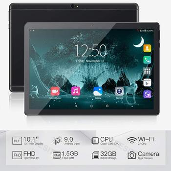 2020 New Ultra Slim 10 inch Tablet PC 4 Cores Android 9.0 OS 32GB ROM Android Tablet 10.1 with Free Gifts
