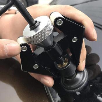 Profesjonalny Auto akumulator samochodowy Terminal Alternator łożysko wycieraczka szyby przedniej ramię Remover ściągacz Roller Extractor Repair Tools nowość tanie i dobre opinie CN (pochodzenie) 45 steel 253gg 50cmcm adjustable wiper puller Black 100*50*50mm 86006278 Remove car wiper