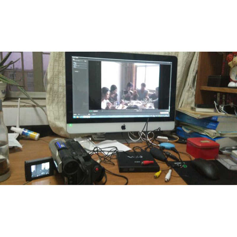 Ezcap USB 2.0 Video Capture V8 Hi8 DVD VHS DVR Adaptor Perekam Converter Analog Video Audio untuk Digital untuk Windows 10 8.1 7