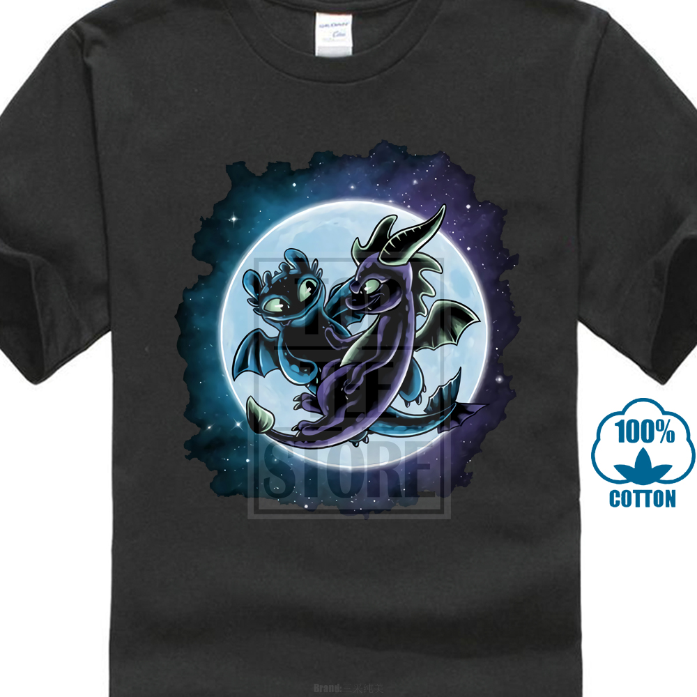 Dragon's Playground Toothless Spyro Crossover Video Games Movie Womens T Shirt Simple Short-sleeved Cotton T-shirt image