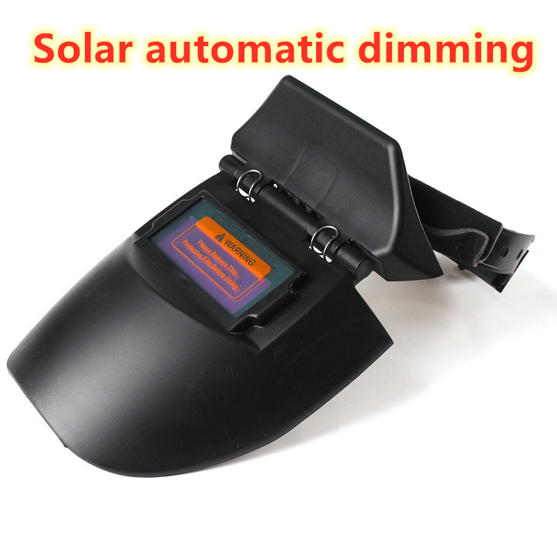 Solar Automatic Dimming Mask Lightweight Solar Automatic Dimming Mask Head-mounted UV-resistant Welding Machine Dimming Mask