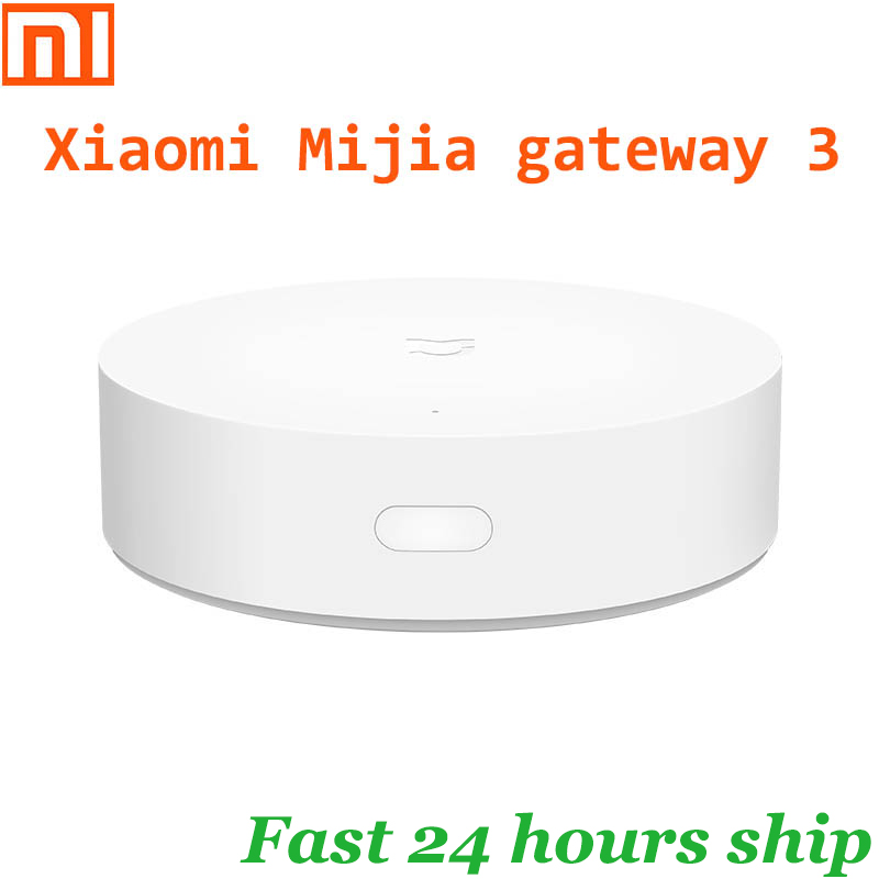 Умный многомодовый шлюз Xiaomi Mijia gateway 3, Zigbee, Wi-Fi, протокол Bluetooth, Интеллектуальная связь, дистанционное управление