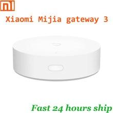 Xiaomi mijia gateway 3 gateway inteligente, multi-modo, zigbee, wi-fi, protocolo bluetooth, ligação inteligente, controle remoto