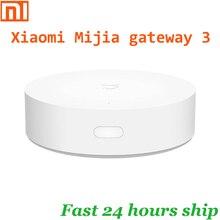 Xiaomi mijia gateway 3 gateway inteligente, multi modo, zigbee, wi fi, protocolo bluetooth, ligação inteligente, controle remoto