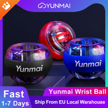 Xiaomi Yunmai Powerball Wrist Ball Gyroscope Led Powerball Gym Home Office Muscle Relax Fitness Equipment Force Wrist Trainer